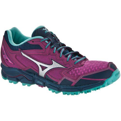 Mizuno Wave Daichi 2: Mizuno Women's Running Shoes Beetroot Purple/Turquoise/Dark Shadow