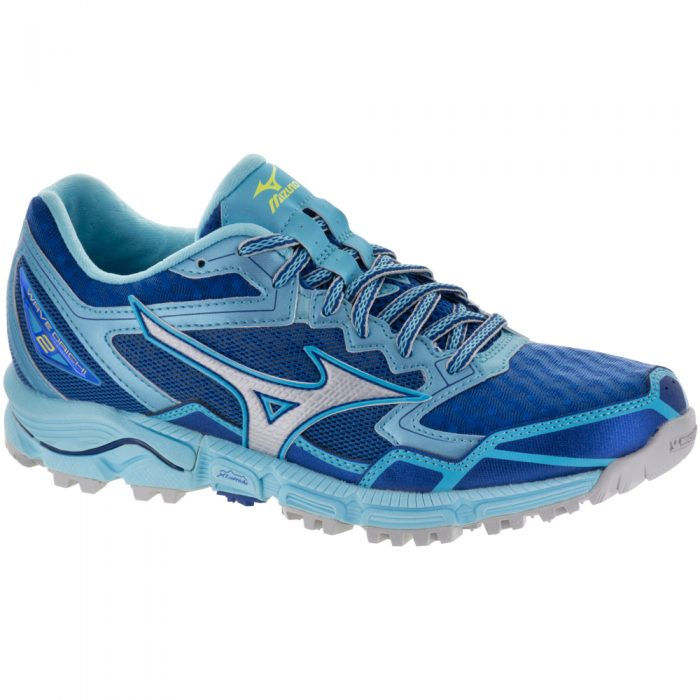 Mizuno Wave Daichi 2: Mizuno Women's Running Shoes True Blue/Micro Chip/Blue Topaz