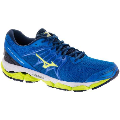 Mizuno Wave Horizon: Mizuno Men's Running Shoes Directoire Blue/Safety Yellow/Peacoat