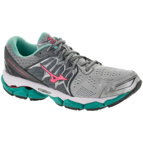 Mizuno Wave Horizon: Mizuno Women's Running Shoes Silver/Diva Pink/Turquoise