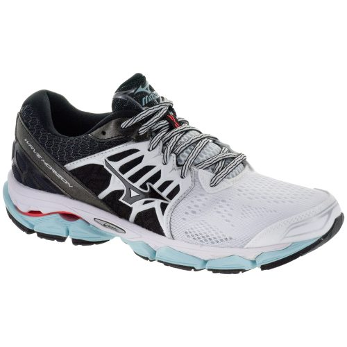 Mizuno Wave Horizon: Mizuno Women's Running Shoes White/Black/Clearwater