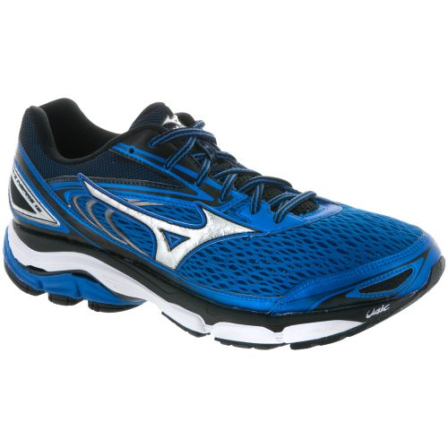 Mizuno Wave Inspire 13: Mizuno Men's Running Shoes Strong Blue/Silver/Black