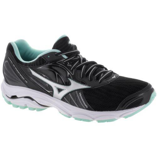 Mizuno Wave Inspire 14: Mizuno Women's Running Shoes Black/Silver