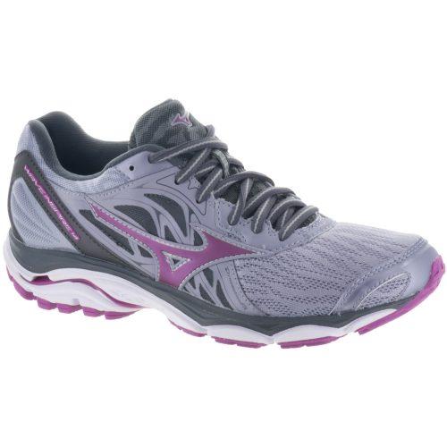 Mizuno Wave Inspire 14: Mizuno Women's Running Shoes Dapple Grey/Clover