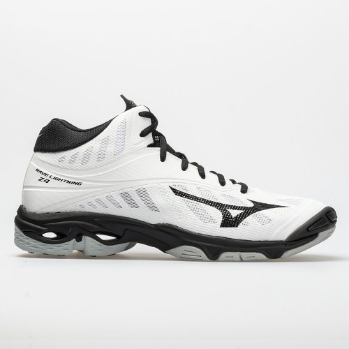 Mizuno Wave Lightning Z4 Mid: Mizuno Men's Indoor, Squash, Racquetball Shoes White/Black