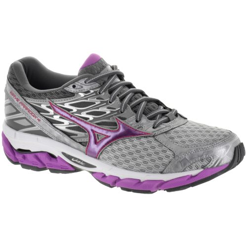 Mizuno Wave Paradox 4: Mizuno Women's Running Shoes Griffin/Hyacinth Violet/Paradise Pink