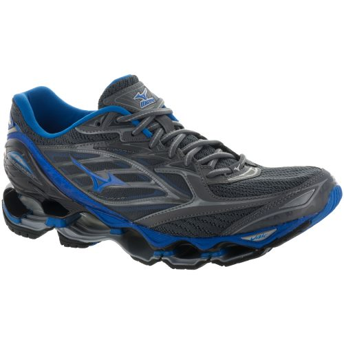 Mizuno Wave Prophecy 6: Mizuno Men's Running Shoes Griffin/Directoire Blue/Asphalt