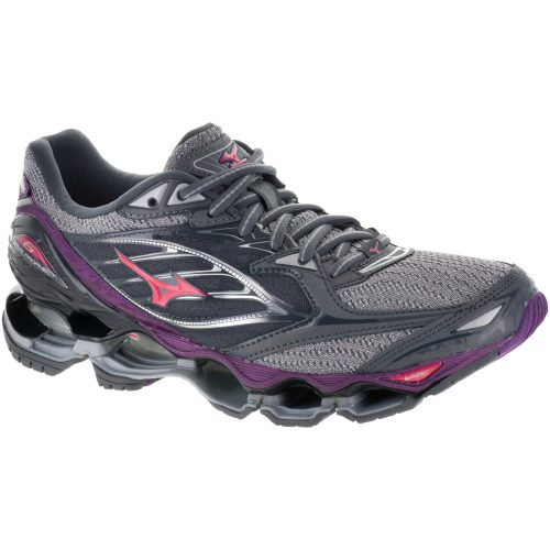 Mizuno Wave Prophecy 6: Mizuno Women's Running Shoes Griffin/Paradise Pink/Grape Juice