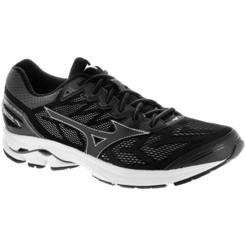 Mizuno Wave Rider 21: Mizuno Men's Running Shoes Black