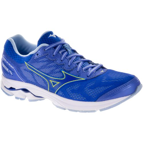 Mizuno Wave Rider 21: Mizuno Women's Running Shoes Baja Blue/Dazzling Blue