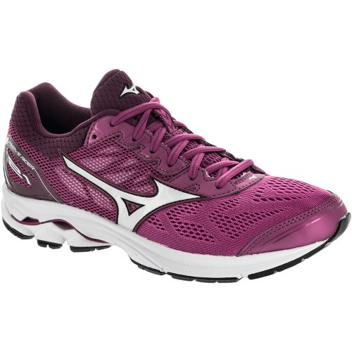 Mizuno Wave Rider 21: Mizuno Women's Running Shoes Clover/Silver