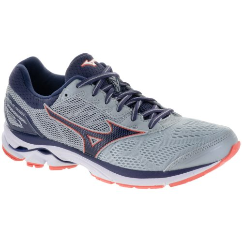 Mizuno Wave Rider 21: Mizuno Women's Running Shoes High Rise/Graystone