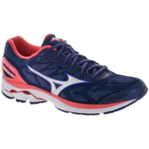 Mizuno Wave Rider 21: Mizuno Women's Running Shoes Patriot Blue/White