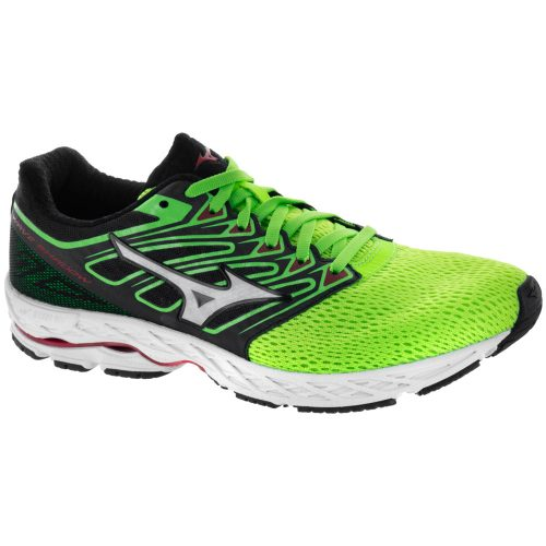 Mizuno Wave Shadow: Mizuno Men's Running Shoes Green Slime/White