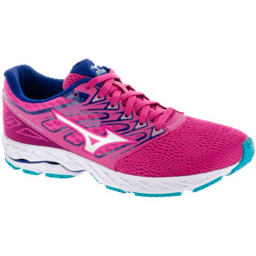 Mizuno Wave Shadow: Mizuno Women's Running Shoes Fushia Purple/Silver/Tile Blue