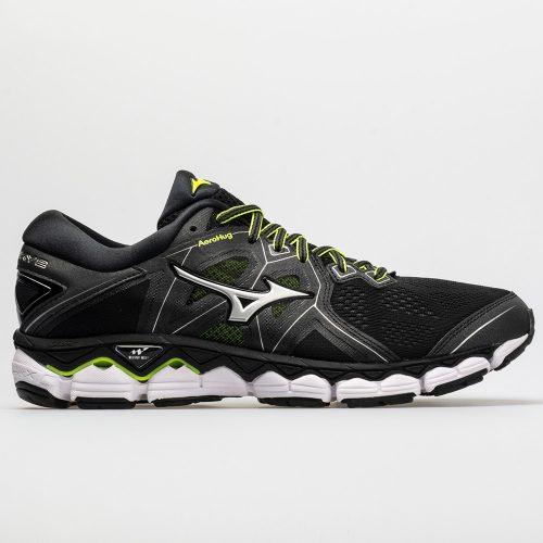 Mizuno Wave Sky 2: Mizuno Men's Running Shoes Black/Safety Yellow
