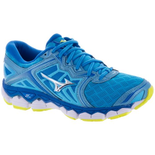 Mizuno Wave Sky: Mizuno Women's Running Shoes Aquarius/Silver