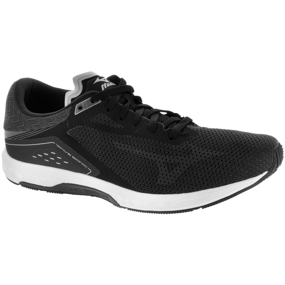 Mizuno Wave Sonic: Mizuno Men's Running Shoes Black/Dark Shadow/Silver