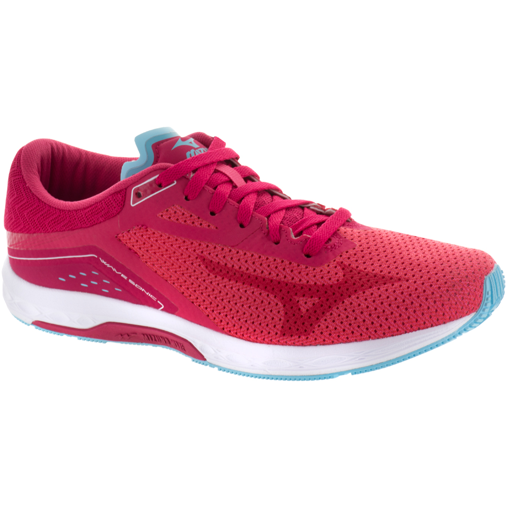 Mizuno Wave Sonic: Mizuno Women's Running Shoes Paradise Pink/Virtual Pink/Blue Topaz
