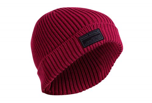 Mons Royale Fisherman's Beanie - plum, one size