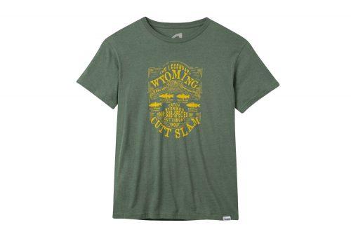 Mountain Khakis Cutt Slam T-Shirt - Men's - green heather, small