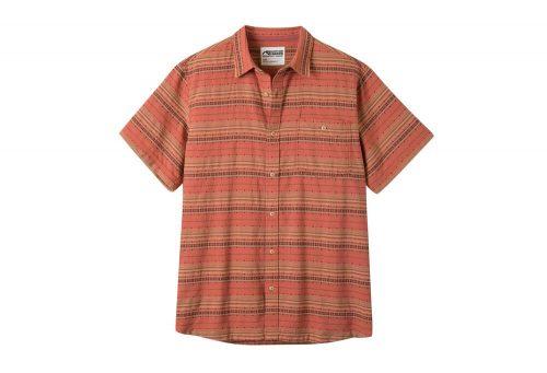 Mountain Khakis Horizon Short Sleeve Shirt - Men's - rojo, large
