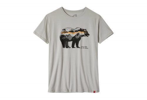 Mountain Khakis Moon Eyed Bear T-Shirt - Men's - heather grey, medium