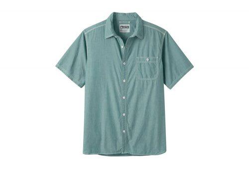 Mountain Khakis Mountain Chambray Short Sleeve Shirt - Men's - deep sea, large