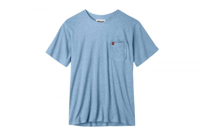 Mountain Khakis Patio Pocket Tee - Men's - blue ridge heather, small