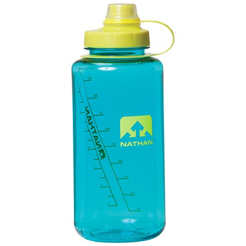 Nathan BigShot Narrow Mouth Bottle 34oz: Nathan Hydration Belts & Water Bottles