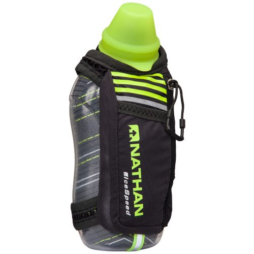 Nathan IceSpeed Insulated Handheld 18oz: Nathan Hydration Belts & Water Bottles
