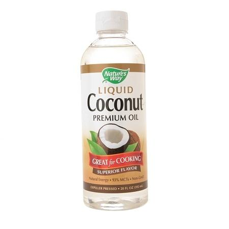Nature's Way Liquid Coconut Premium Oil - 20 fl oz