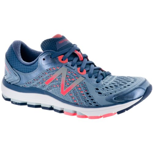 New Balance 1260v7: New Balance Women's Running Shoes Reflection/Vintage/Indigo/Vivid Coral