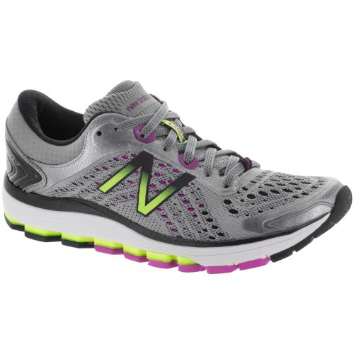New Balance 1260v7: New Balance Women's Running Shoes Steel/Poisonberry