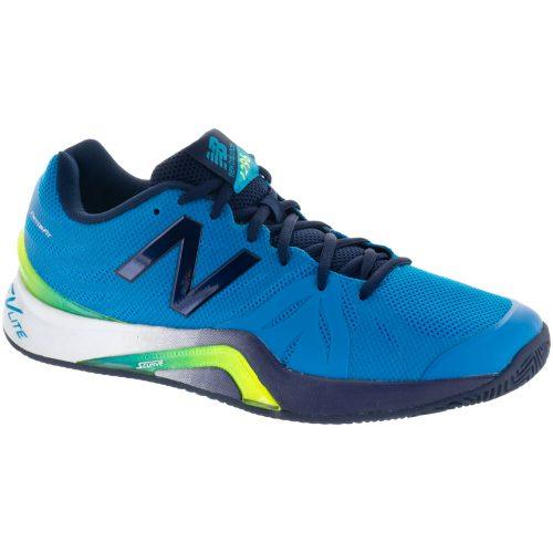 New Balance 1296v2: New Balance Men's Tennis Shoes Maldives Blue/Pigment