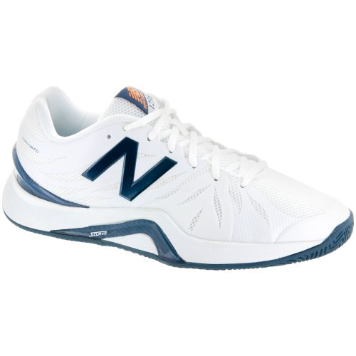 New Balance 1296v2: New Balance Men's Tennis Shoes White/Blue