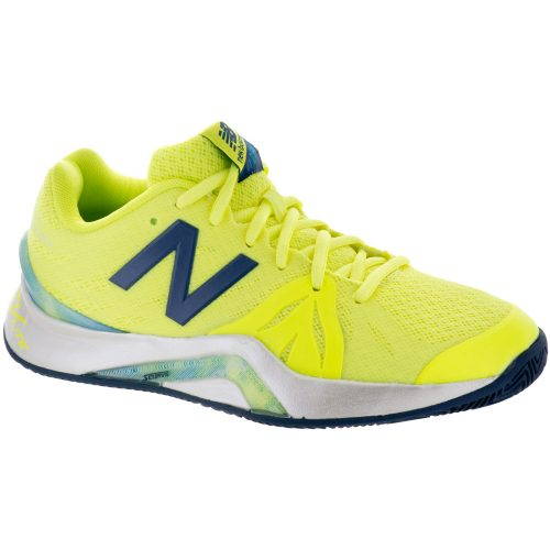 New Balance 1296v2: New Balance Women's Tennis Shoes Yellow/Gray