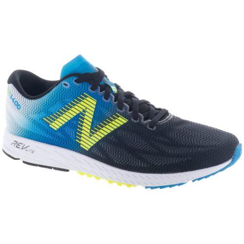 New Balance 1400v6: New Balance Men's Running Shoes Maldives Blue/Black/Hi-Lite