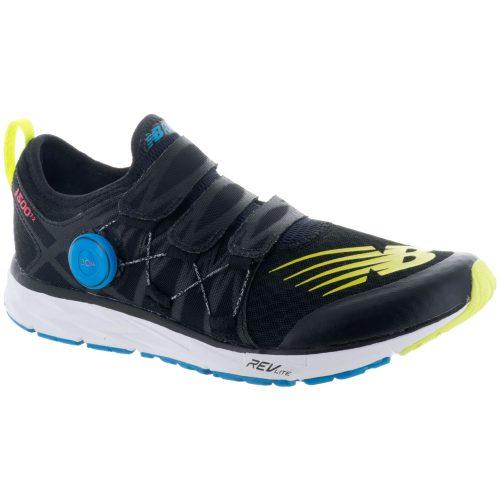 New Balance 1500v4: New Balance Men's Running Shoes Black/Hi-Lite/Vivid Coral/Maldives Blue