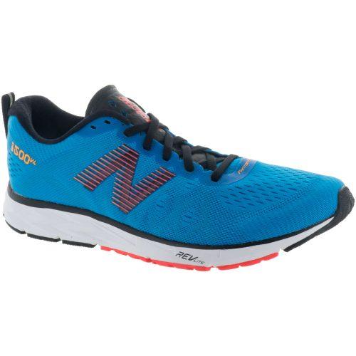 New Balance 1500v4: New Balance Men's Running Shoes Maldives Blue/Black/Flame/Impulse
