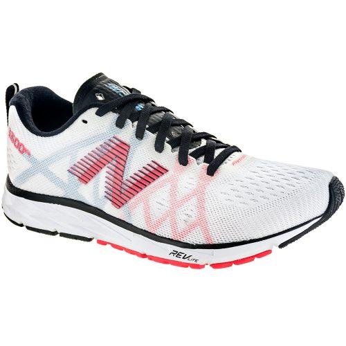 New Balance 1500v4: New Balance Women's Running Shoes White Munsell/Black/Vivid Coral/Maldives Bl