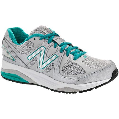 New Balance 1540v2: New Balance Women's Running Shoes Silver/Green