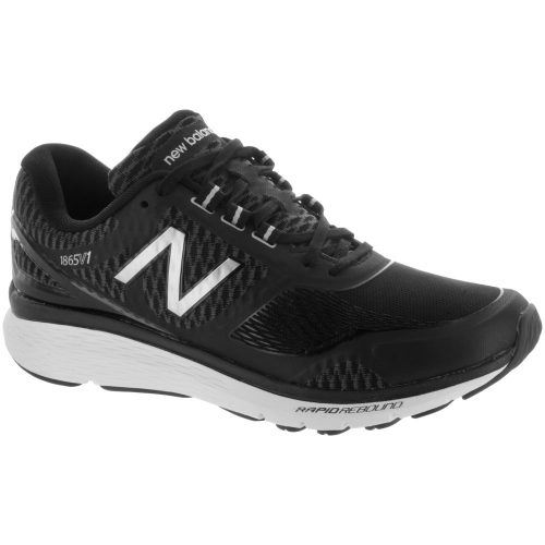 New Balance 1865: New Balance Men's Walking Shoes Black/Silver