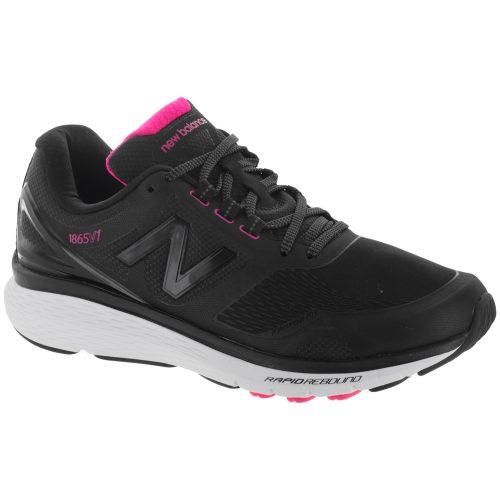New Balance 1865: New Balance Women's Walking Shoes Black/White