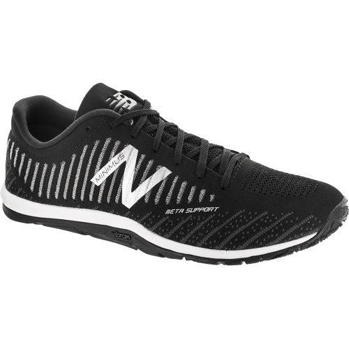 New Balance 20v7: New Balance Men's Training Shoes Black/White/Magnet