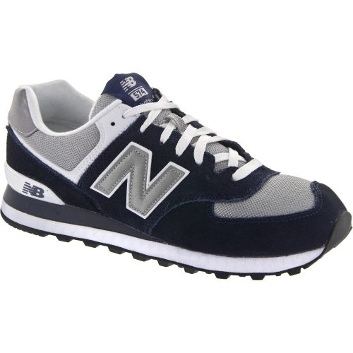 New Balance 574: New Balance Men's Running Shoes Navy