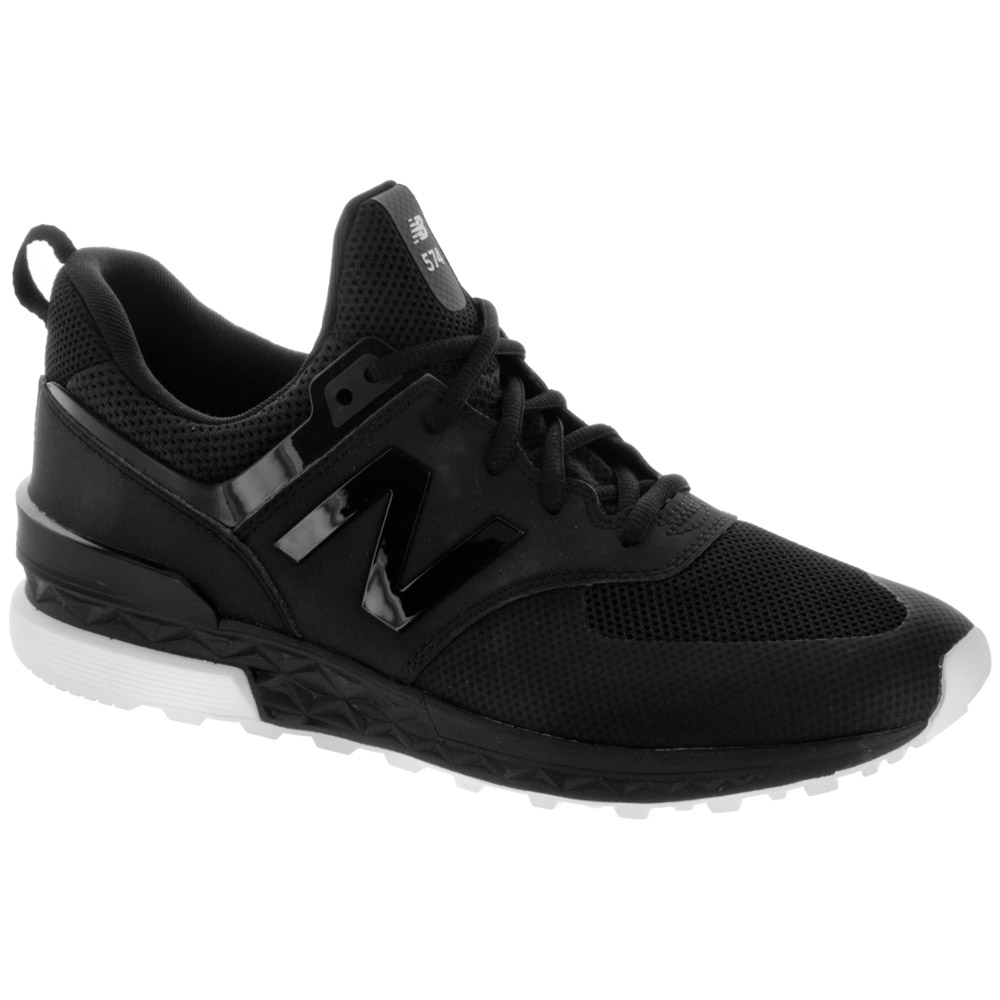 New Balance 574 Sport: New Balance Men's Running Shoes Black