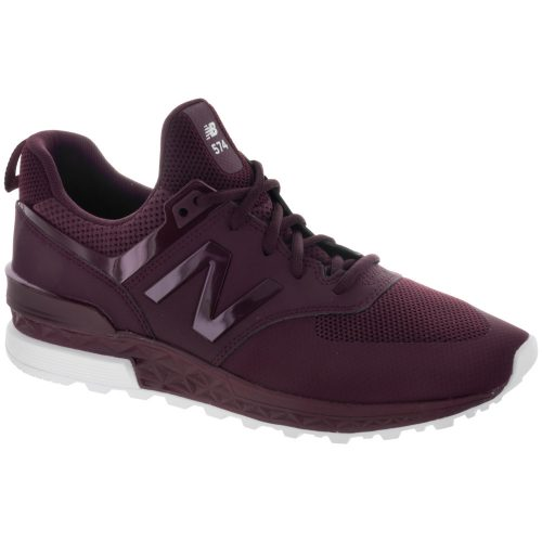 New Balance 574 Sport: New Balance Men's Running Shoes Maroon