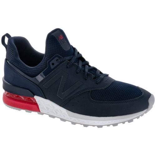 New Balance 574 Sport: New Balance Men's Running Shoes Navy/Red