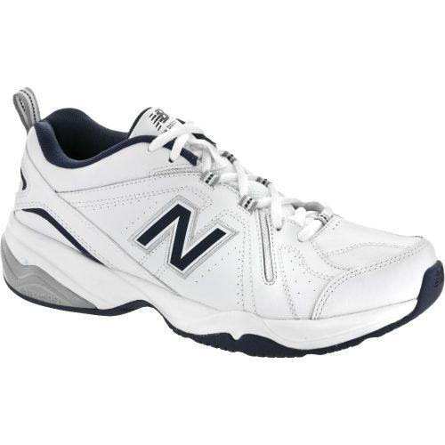 New Balance 608v4: New Balance Men's Training Shoes White/Navy